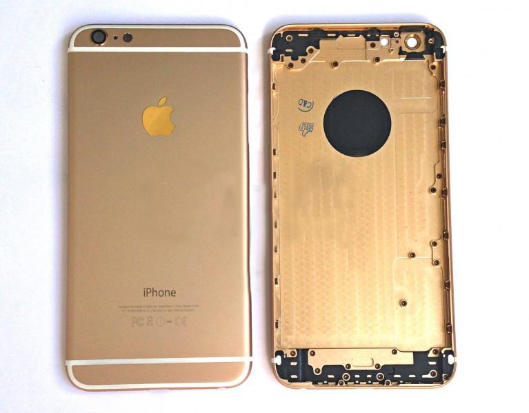 Задняя крышка корпус iPhone 6 Plus 5.5 золотая