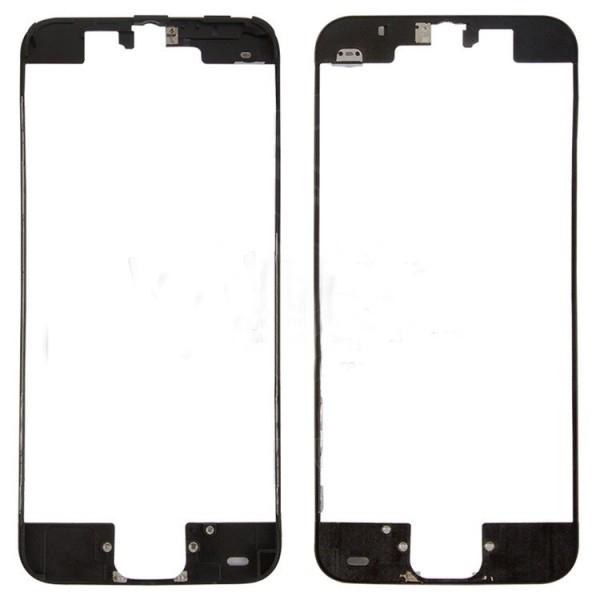Рамка крепления дисплея iPhone 5C чёрная orig