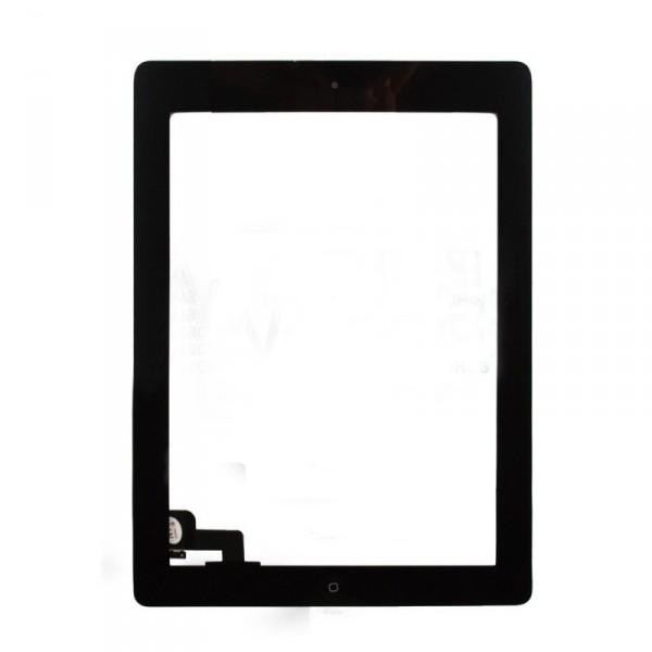 Сенсор (Touch screen) iPad 2 черный полный комплект high copy