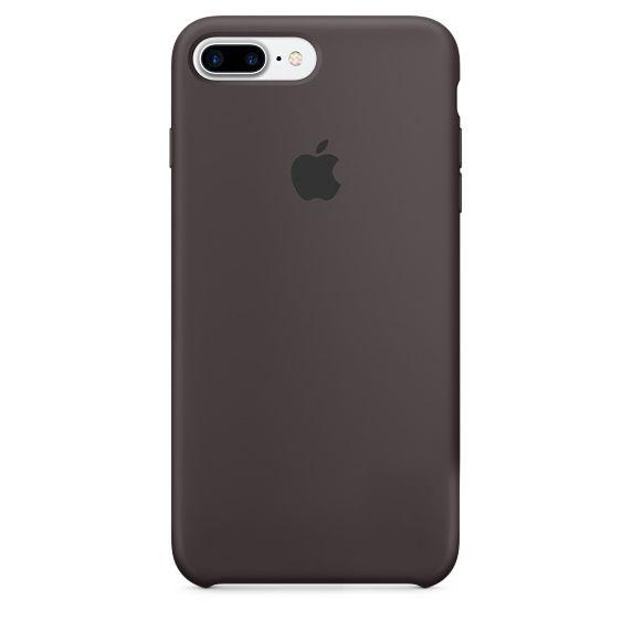 Чехол Apple Silicone Case iPhone 7 Plus, iPhone 8 Plus Cocoa (MMT12_HC)
