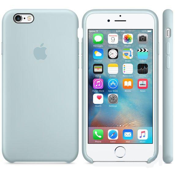 Чехол Apple Silicone Case iPhone 6 Plus, iPhone 6S Plus Turquoise_HC