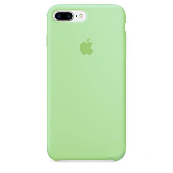 Чехол Apple Silicone Case iPhone 7 Plus, iPhone 8 Plus Green_HC