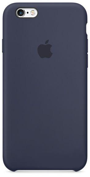 Чехол Apple Silicone Case Apple iPhone 6, iPhone 6S Midnight Blue_HC