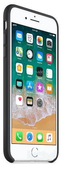 Чехол Apple iPhone 8 Plus, iPhone 7 Plus Silicone Case Black (MQGW2)