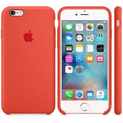 Чехол Apple Silicone Case iPhone 6 Plus, iPhone 6S Plus Orange (MKXQ2)