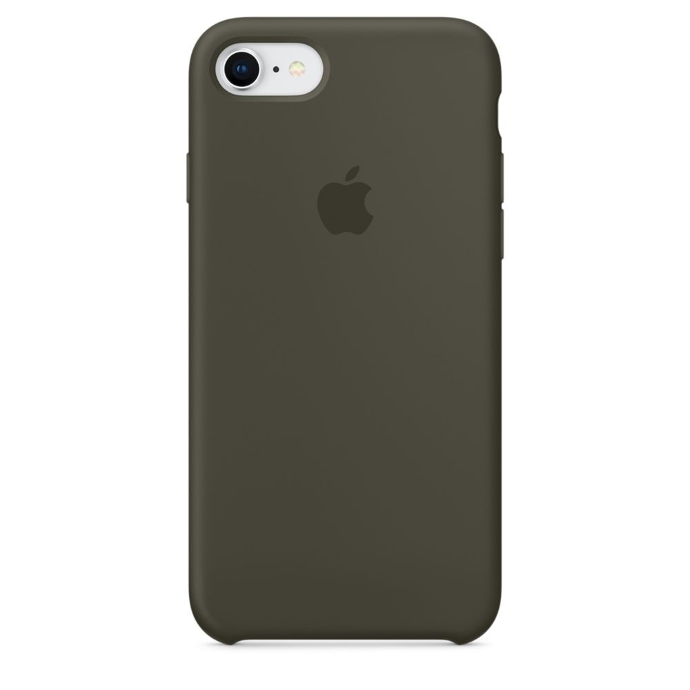 Чехол Apple Silicone Case iPhone 7, iPhone 8 Dark Olive (MR3N2)
