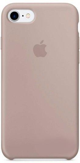 Чехол Apple Silicone Case iPhone 7, iPhone 8 Pebble (MQ0L2)