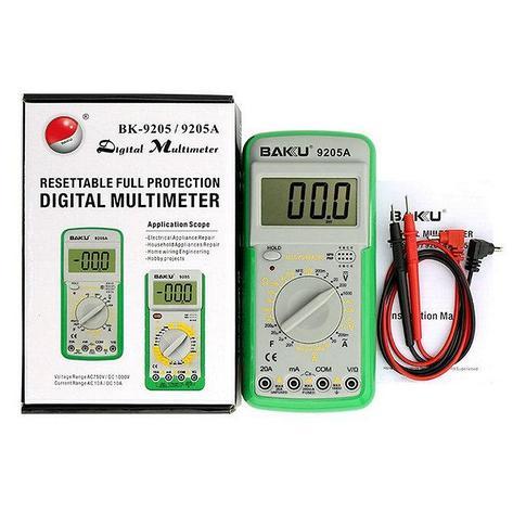 Мультиметр цифровой BAKU BK-9205A с функцией автоотключения