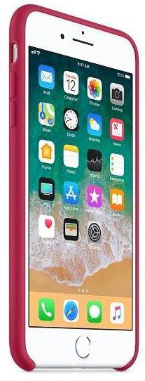 Чехол Apple iPhone 8 Plus Silicone Case Rose Red (MQH52)