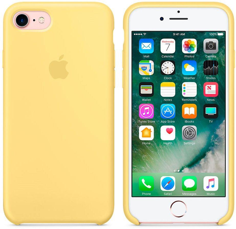 Чехол Apple Silicone Case iPhone 7, iPhone 8 Pollen (MQ5A2)