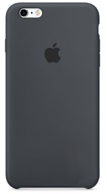 Чехол Apple Silicone Case iPhone 6, iPhone 6S Charcoal Gray (MKY02)