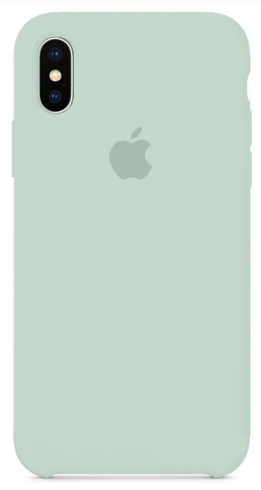 Чехол Apple Silicone Case iPhone X Turquoise_HC