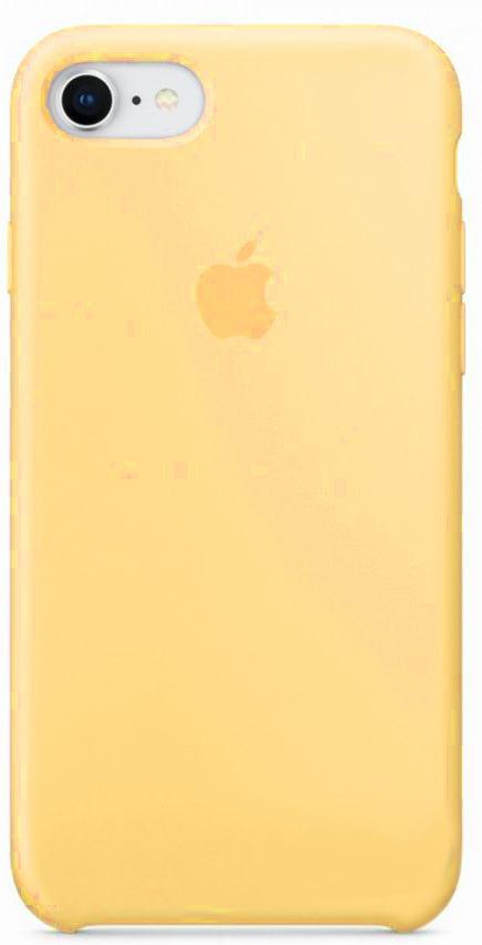 Чехол Apple Silicone Case iPhone 7, iPhone 8 Gold_HC