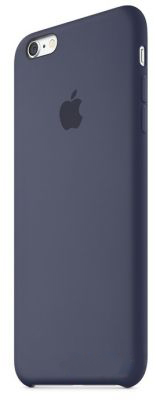 Чехол Apple Silicone Case iPhone 6 Plus, iPhone 6S Plus Midnight Blue (MKXL2)