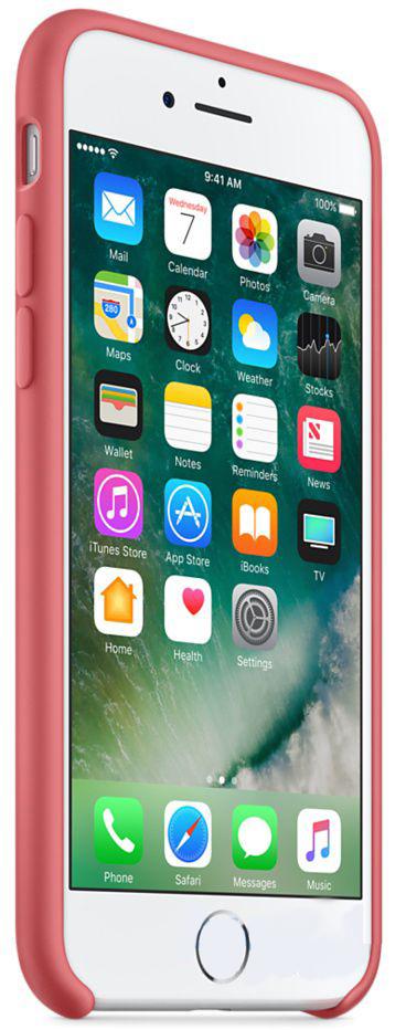 Чехол Apple Silicone Case iPhone 7, iPhone 8 Camellia (MQ0K2)