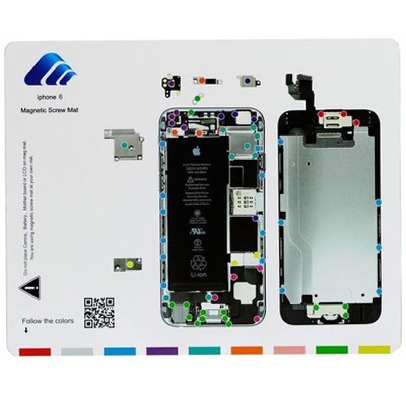 Магнитный мат MECHANIC iP6 для iPhone 6