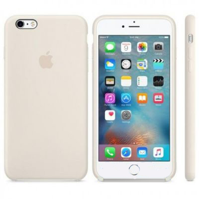Чехол Apple Silicone Case iPhone 6 Plus, iPhone 6S Plus Antique White (MLD22)