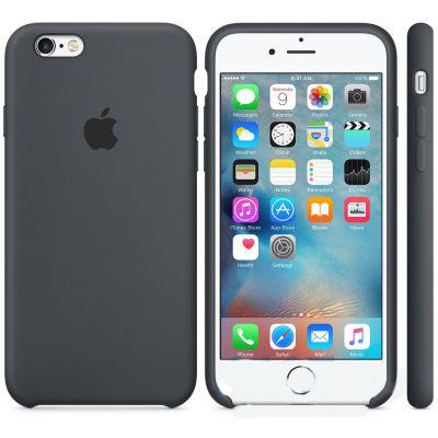 Чехол Apple Silicone Case iPhone 6 Plus, iPhone 6S Plus Charcoal Gray (MKXJ2)