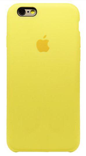 Чехол Apple Silicone Case iPhone 6 Plus, iPhone 6S Plus Yellow_HC