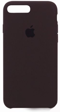 Чехол Apple Silicone Case iPhone 7 Plus, iPhone 8 Plus Chocolate_HC