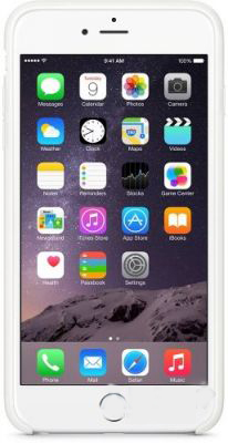 Чехол Apple Silicone Case for iPhone 6 Plus White (MGRF2)