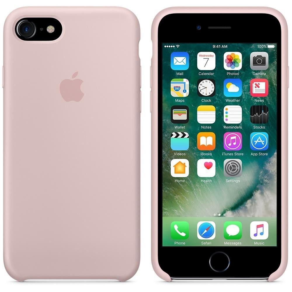 Чехол Apple Silicone Case Apple iPhone 7 Pink (MMX12)