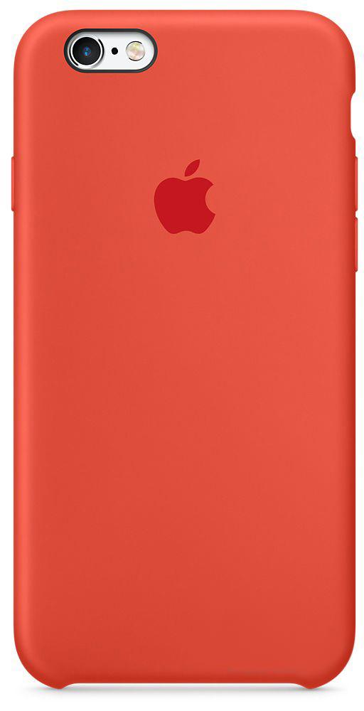 Чехол Apple Silicone Case Apple iPhone 6, iPhone 6S Orange_HC