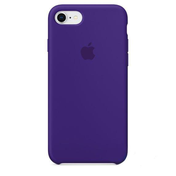 Чехол Apple Silicone Case iPhone 7, iPhone 8 Ultra Violet (MQGR2)
