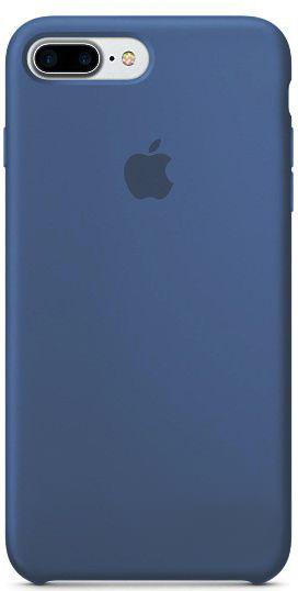 Чехол Apple Silicone Case iPhone 7 Plus, iPhone 8 Plus Blue_HC