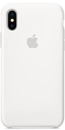 Чехол Apple Silicone Case iPhone X White (MQT22)