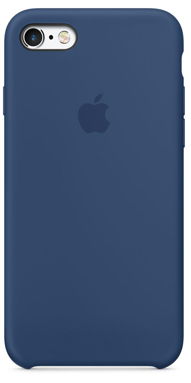 Чехол Apple Silicone Case iPhone 5, iPhone 5S, iPhone SE Deep Blue_HC