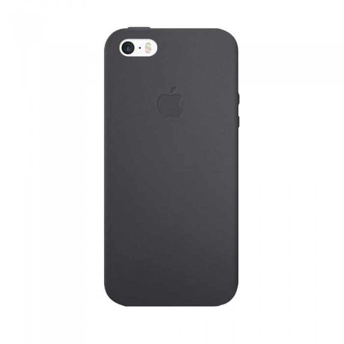 Чехол Apple Silicone Case iPhone 5, iPhone 5S, iPhone SE Space Gray_HC