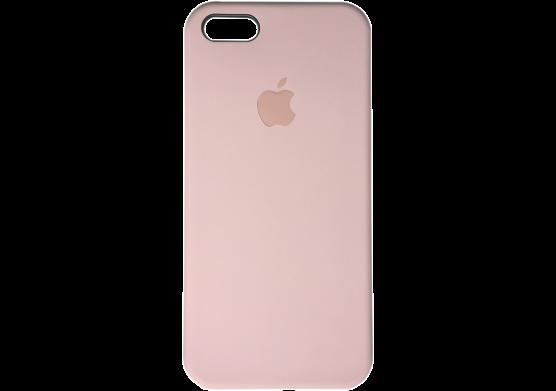 Чехол Apple Silicone Case iPhone SE, iPhone 5S, iPhone 5 Beige_HC