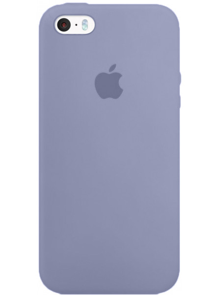 Чехол Apple Silicone Case iPhone SE, iPhone 5S, iPhone 5 Lilac_HC
