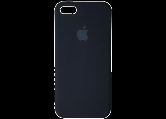 Чехол Apple Silicone Case iPhone 5, iPhone 5S, iPhone SE Black_HC