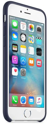 Чехол Apple Silicone Case iPhone 6, iPhone 6S Midning Blue (MKY22)