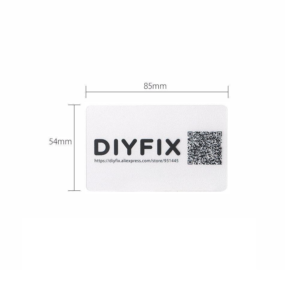 Карта пластиковая DIYFIX (54х86мм)