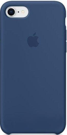 Чехол Apple Silicone Case iPhone 7, iPhone 8 Blue Cobalt (MQGN2)