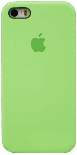 Чехол Apple Silicone Case iPhone SE, iPhone 5S, iPhone 5 Lightgreen_HC