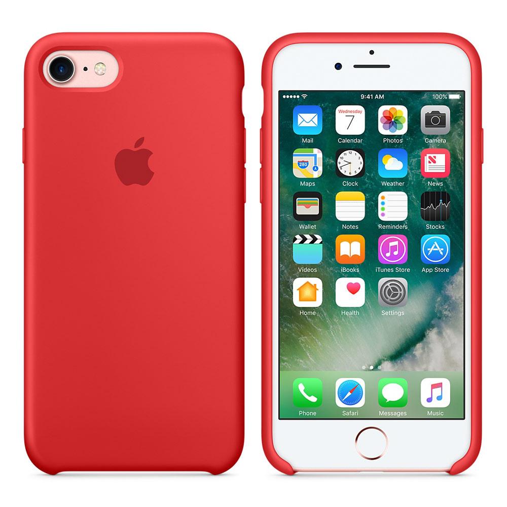 Чехол Apple Silicone Case iPhone 6, iPhone 6S Red_HC