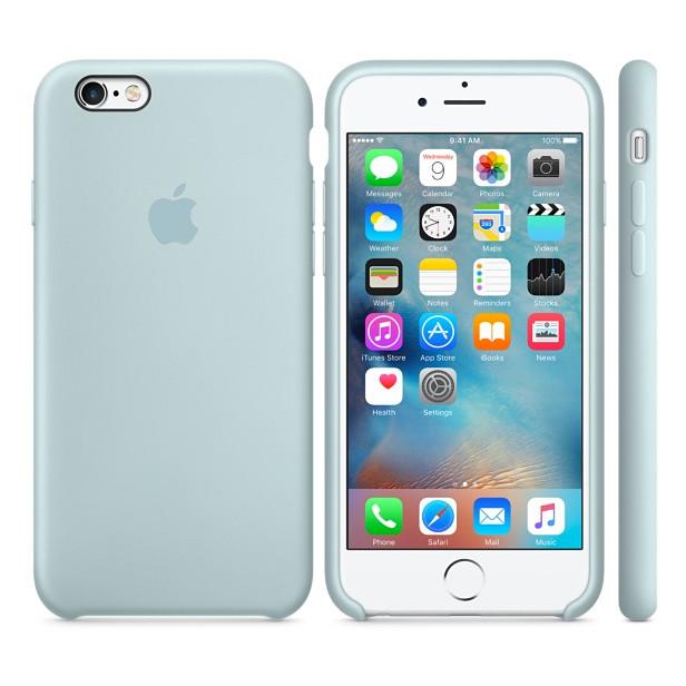 Чехол Apple Silicone Case Apple iPhone 6, iPhone 6S Turquoise_HC