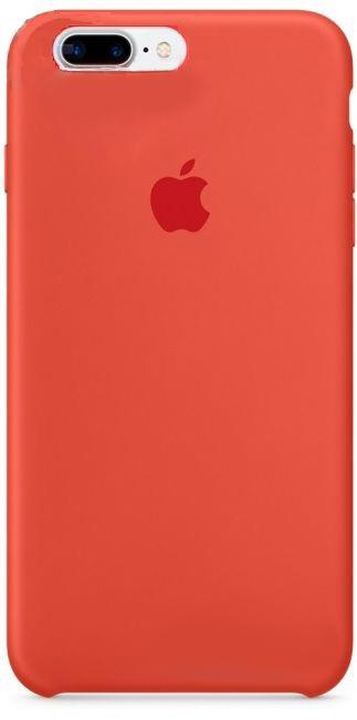 Чехол Apple Silicone Case iPhone 7 Plus, iPhone 8 Plus Orange_HC