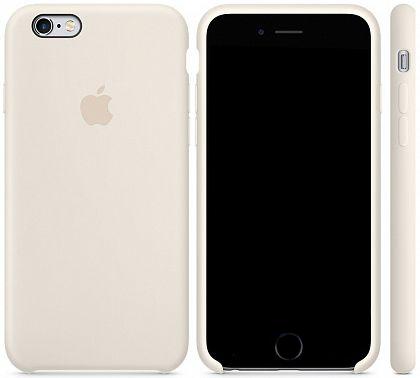 Чехол Apple Silicone Case iPhone 6 Plus, iPhone 6S Plus Antique White_HC