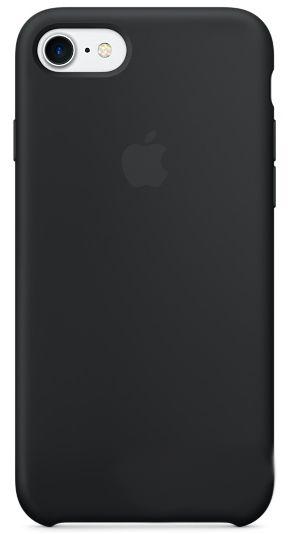 Чехол Apple Silicone Case iPhone 7 Black (MMW82)