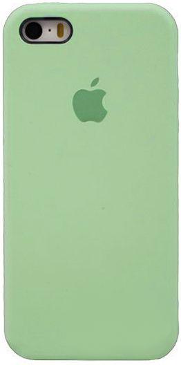 Чехол Apple Silicone Case iPhone SE, iPhone 5S, iPhone 5 Mintgreen_HC
