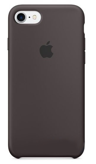 Чехол Apple Silicone Case Apple iPhone 7 Cocoa (MMX22)