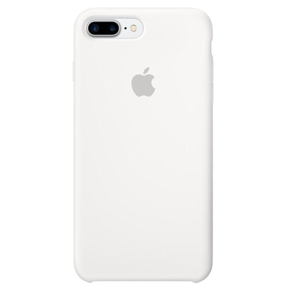 Чехол Apple Silicone Case iPhone 7 Plus, iPhone 8 Plus White (MMQT2)