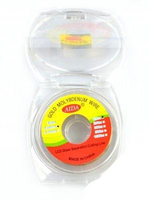 Проволка (струна) 0.08мм,100м AIDA для расслаивания