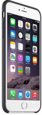 Чехол Apple Silicone Case for iPhone 6 Plus Black (MGR92)