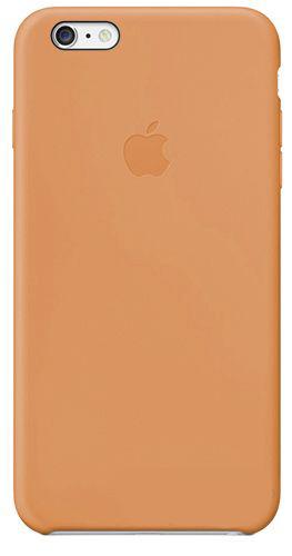 Чехол Apple Silicone Case iPhone 6, iPhone 6S Cream Brown_HC